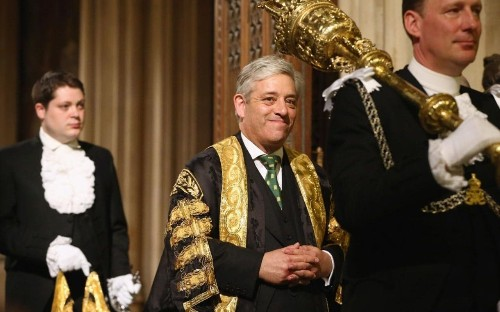 Government will not protect John Bercow from resignation demands as Speaker as row over impartiality grows