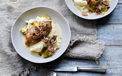 Rachel Allen's chicken and bacon casserole