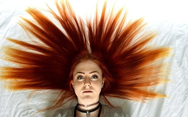 This is ginger nuts! Natural redhead banned from school for having hair that's too bright