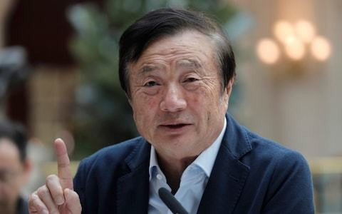 UK 'won't say no' to a deal with Huawei, says founder as he calls Boris Johnson a 'very capable person'