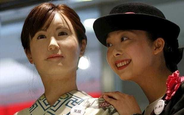 Welcome to the future: Where a robot is more employable than a woman