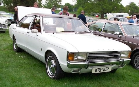 UK's rarest cars: 1975 Ford Consul 2000L, one of only 12 left on British roads