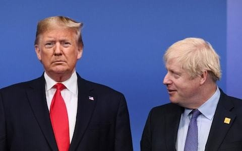 Boris Johnson moves to heal US-UK rift over Huawei by promising it will never happen again