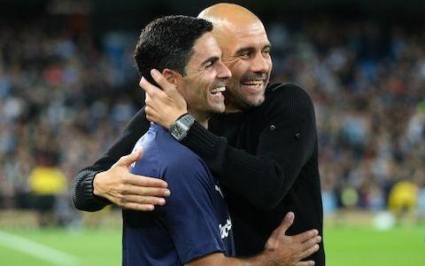 Pep Guardiola praises 'smart' Mikel Arteta, admitting Spaniard could be his successor at Man City