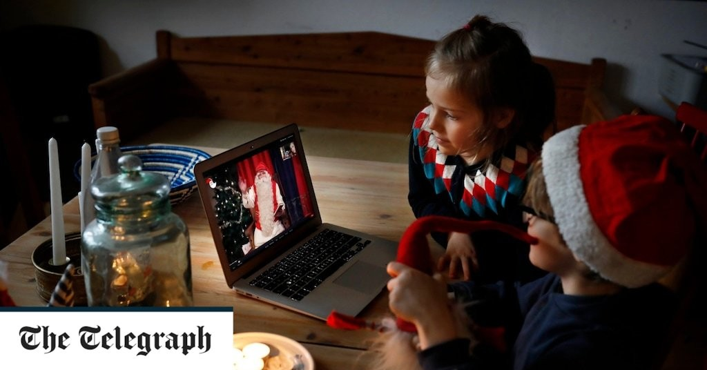 Santa offers Zoom calls with children for £71 a pop after Covid kills Lapland tourism