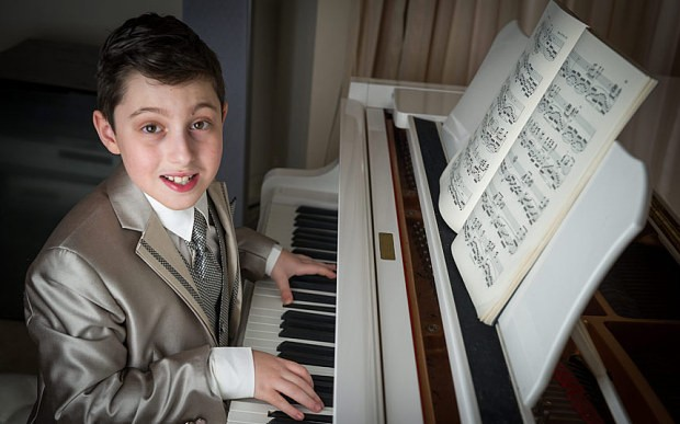 Boy, 11, youngest person in world to get music degree