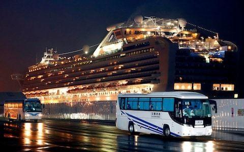 Coronavirus latest news: Britons stuck on quarantined ship to be flown home