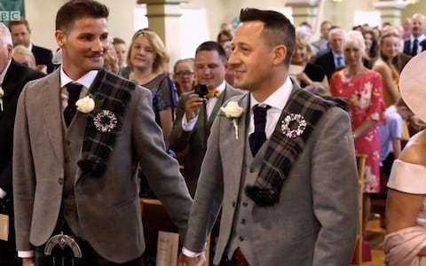 Songs of Praise broadcasts show's first gay wedding