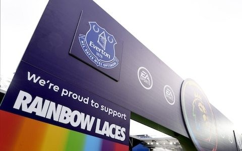 Everton investigating reports of homophobic chanting during win over Chelsea
