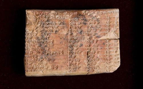 3,700-year-old Babylonian tablet rewrites the history of maths - and shows the Greeks did not develop trigonometry