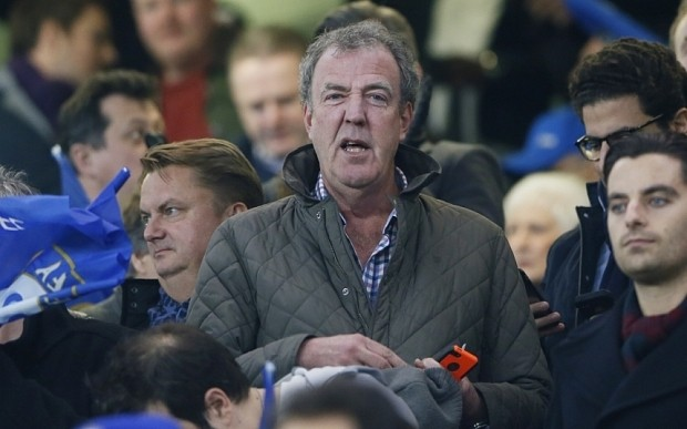 Jeremy Clarkson surfaces with a snarl at Chelsea vs PSG