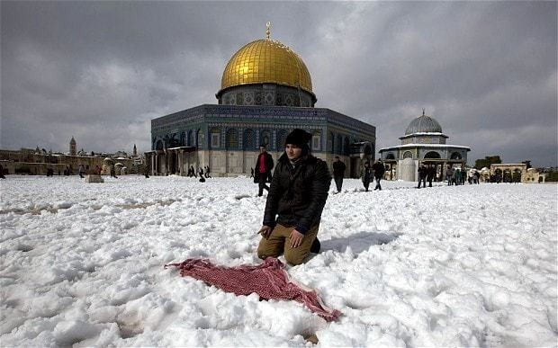 'Historic' snow storms spread havoc and misery across the Middle East