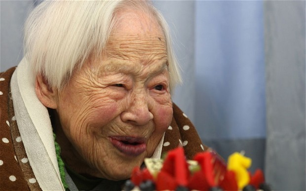 World's oldest person celebrates her 116th birthday: 'Eat and sleep and you will live a long time'