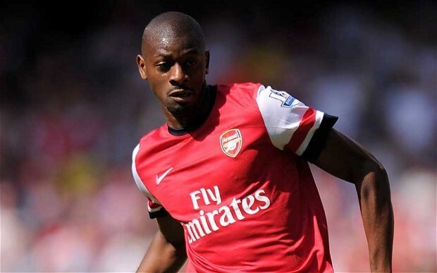 Arsenal midfielder Abou Diaby out for nine months after sustaining cruciate ligament injury in training