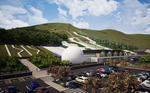 "Edinburgh dry ski slope multimillion-pound makeover to include ""alpine rollercoaster"""