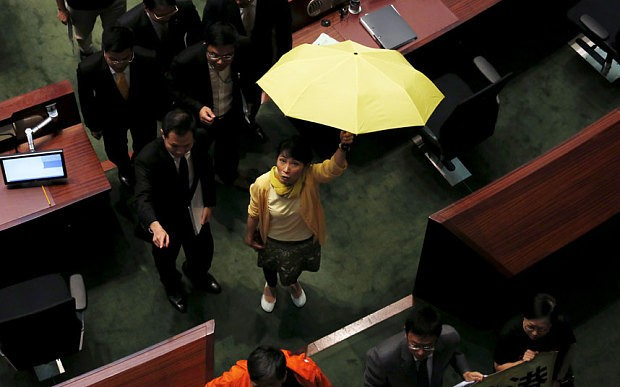 Hong Kong rejects Beijing-backed political reform package
