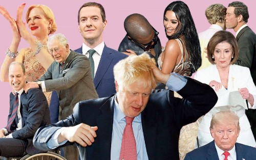 From royal massages to the Boris hair ruffle: Why it's all in the body language