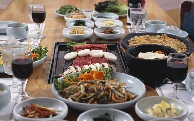 Japchae, South Korean noodles recipe