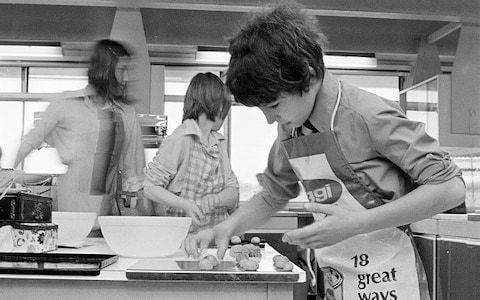 From upside-down cake to washing up flow-charts: who can forget the lessons of 'home ec'?