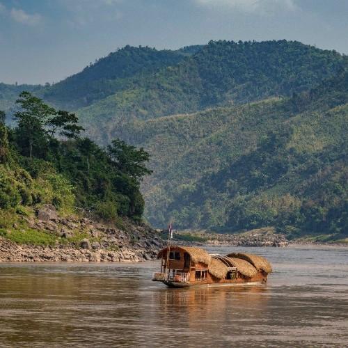 Gypsy mekong river boat cruise review Luang Prabang Thailand