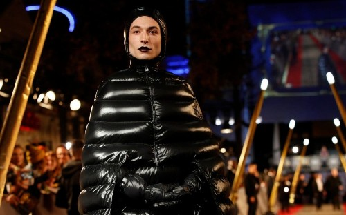Fantastic Beasts star Ezra Miller wins the red carpet with Dementor-inspired outfit