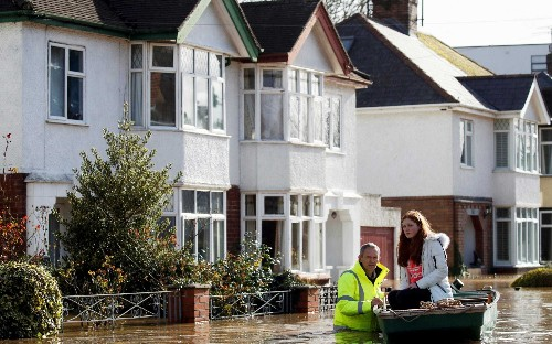 Letters: Britain's aid budget should help people flooded out of their homes