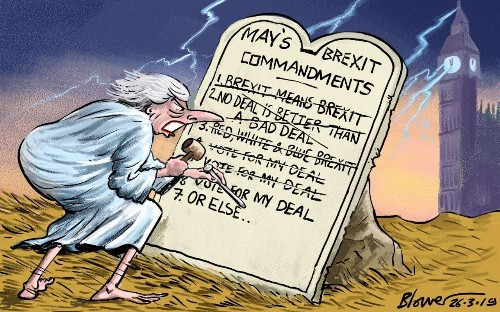 Faced with a difficult situation, Mrs May offers only obfuscation