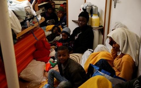 France and Germany to take in migrants stranded on rescue ship in the Mediterranean