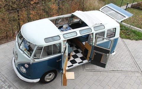 Volkswagen Type 2 'Samba': the ultimate camper van at 70