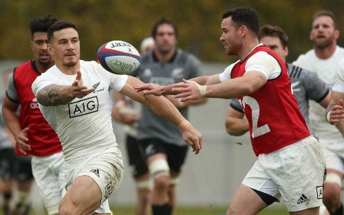 New Zealand name strong team to face England as Sonny Bill Williams partners Jack Goodhue at centre