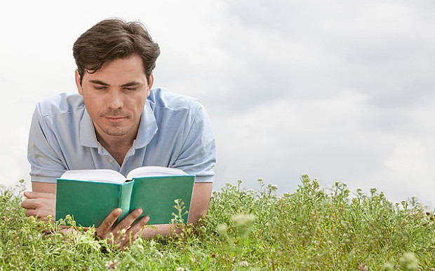 Have men fallen out of love with books?
