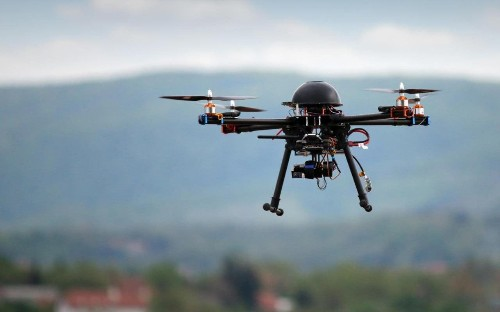 Police say drones being used to vandalise homes and stalk victims, as reports of incidents surge