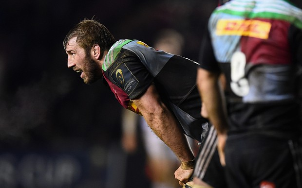 Chris Robshaw must repay Stuart Lancaster's faith as Six Nations England selection draws near
