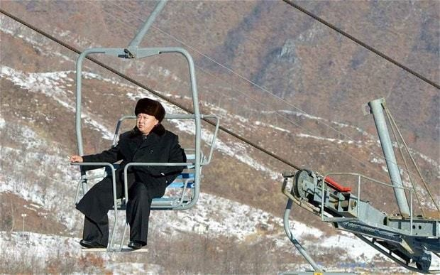 Kim Jong-un spends New Year's Eve skiing in his 'impeccable' resort