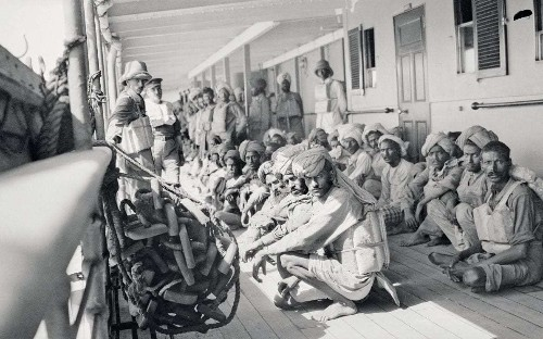 How India saved the Empire in the First World War