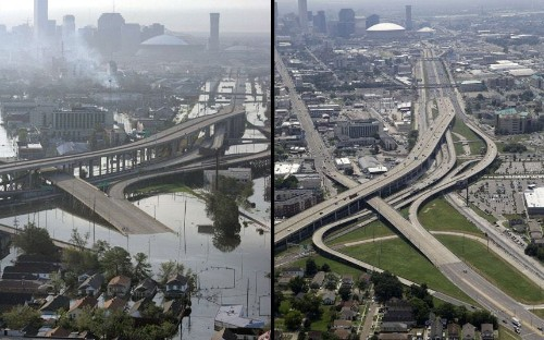 Hurricane Katrina anniversary: New Orleans ten years after storm, in pictures - Telegraph