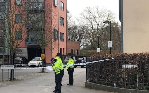 17-year-old boy stabbed to death outside west London flats