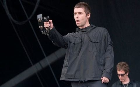 Liam Gallagher fuming after parka jackets stolen during Glastonbury