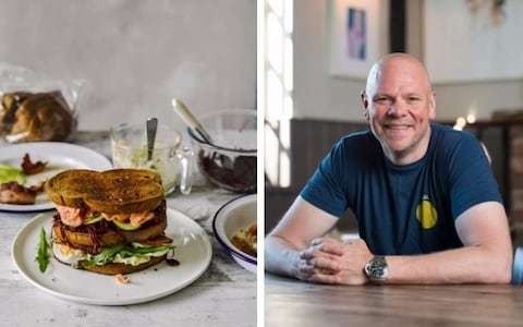 British Sandwich Week: Tom Kerridge's masterclass on steak toasties, salmon stacks and pulled-pork sarnies