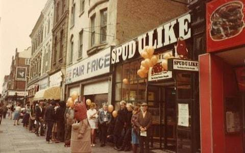 Spud-u-like goes into administration after 45 years