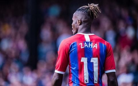 Wilfried Zaha still has support of players despite transfer request, says Andros Townsend
