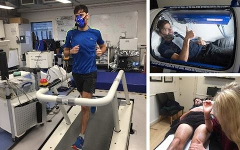 Coconut oil, spreadsheets and oxygen chambers - how sports science is fuelling my London Marathon 2019 mission
