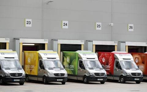Market report: Ocado shares climb further on blue-chip hopes
