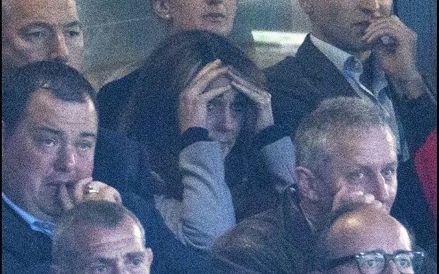 Rugby World Cup: Duchess of Cambridge rides the full gamut of emotion at Wales v Australia