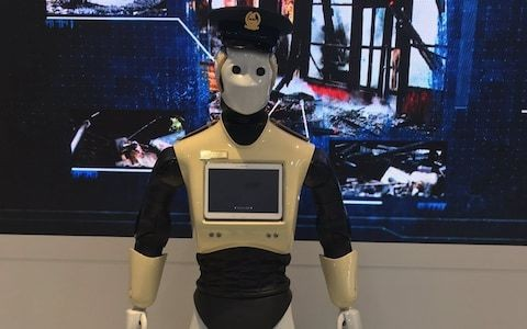 Real-life Robocops will soon replace human police