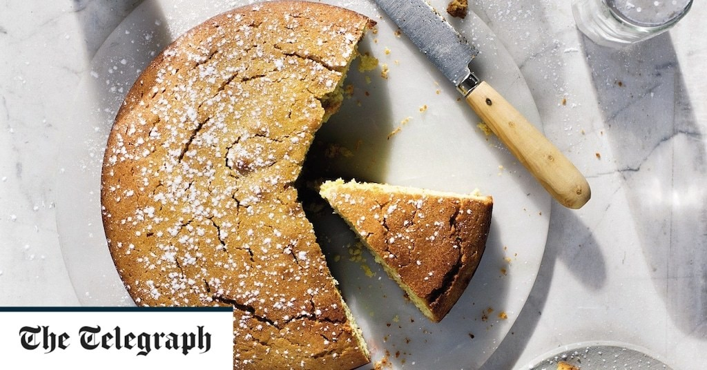Rosemary and citrus olive oil cake recipe