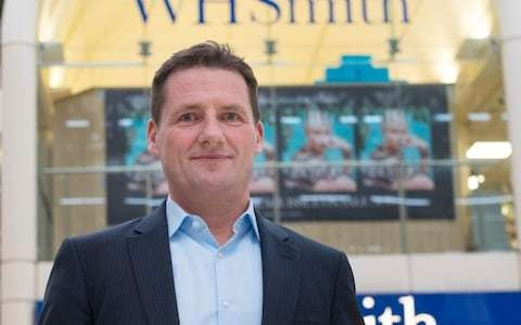 WHSmith boss to depart after six years at the helm