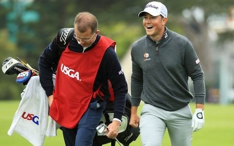 Rhys Enoch grabs the hearts of Pebble Beach spectators at US Open