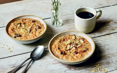 Carrot cake porridge recipe