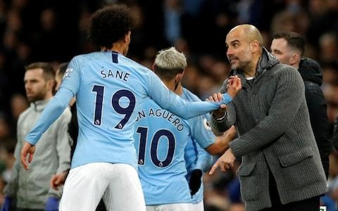 Pep Guardiola warns Leroy Sane only 'happy' players will stay at Manchester City